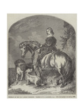 Portrait of Honourable Ashley Ponsonby Giclee Print by Edwin Landseer