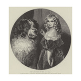 The Late Duchess of Teck as a Child Giclee Print by Edwin Landseer