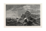 Mont Orgueil Castle Jersey, in the Exhibition of the Old Water-Colour Society Giclee Print by Samuel Phillips Jackson