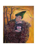 The Keeper of the Roses, 2003 Giclee Print by Silvia Pastore