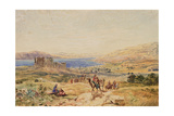 Tiberias on the Sea of Galilee, C.1850 Giclee Print by Samuel Bough
