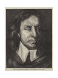 The Late National Portrait Exhibition, Oliver Cromwell Giclee Print by Samuel Cooper