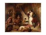 Bolton Court in Olden Times Giclee Print by Edwin Landseer