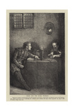 Nigel and the Miser Trapbois Giclee Print by Sir James Dromgole Linton