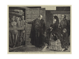 The Ragged Regiment, Waxwork Effigies in Westminster Abbey Giclee Print by Sir James Dromgole Linton