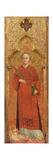 St. Stephen Giclee Print by  Sassetta
