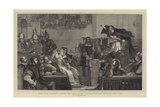 John Knox Preaching before the Lords of the Congregation, the Tenth of June, 1559 Giclee Print by Sir David Wilkie