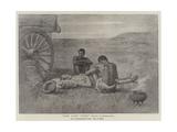 The Last 'Trek' Giclée-tryk af John Everett Millais