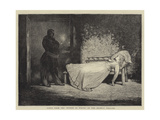 Scene from the Woman in White, at the Olympic Theatre Giclee Print by Sir James Dromgole Linton