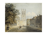 Magdalen College and the Eastern End of the High Street Giclee Print by Robert Revd Nixon
