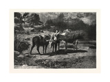 The Three Brothers, in the French Gallery Giclee Print by Rosa Bonheur
