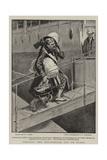 Getting the Regimental Cat on Board Reproduction procédé giclée par S.t. Dadd