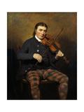 Niel Gow (1727-1807), 1787 Gicléedruk van Sir Henry Raeburn