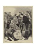 The Waverley Ball Giclee Print by Sir James Dromgole Linton
