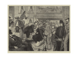 London Sketches, at a Music Hall Giclee Print by Sir James Dromgole Linton