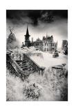 Ecclescrieg House, Aberdeenshire, Scotland Giclee Print by Simon Marsden