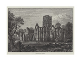 Fountains Abbey, Yorkshire Giclee Print by Samuel Read