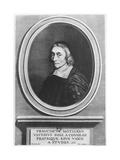 Portrait of François De La Mothe Le Vayer Reproduction procédé giclée par Robert Nanteuil