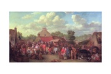 Pitlessie Fair, 1804 Giclee Print by Sir David Wilkie