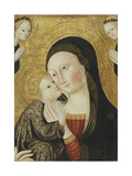 Madonna and Child with Angels, 1430-45 Giclee Print by  Sano di Pietro