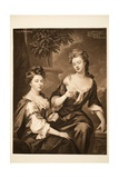Sarah, Duchess of Marlborough and Lady Fitzharding, Pub. 1902 Giclee Print by Godfrey Kneller