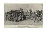 With the 2nd Devonshire Regiment at Standerton, the Larder Reproduction procédé giclée par S.t. Dadd