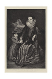 Susanna Fourment and Her Daughter Catherine Giclee Print by Sir Anthony van Dyck