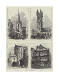 Bits of Old Bristol Giclee Print by Samuel Read