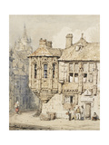 Street Scene in Rouen Giclee Print by Samuel Prout