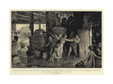 The Cider Press, an Autumn Scene in Somerset Giclee Print by Robert Walker Macbeth