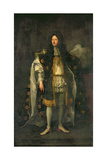 John Drummond, 1st Earl of Melfort, Secretary of State for Scotland (1649-1714), 1688 Giclee Print by Godfrey Kneller