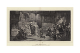 The Benediction Giclee Print by Sir James Dromgole Linton