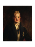 Portrait of King William IV (1765-1837) 1837 Giclee Print by Sir David Wilkie