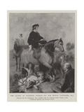 The Queen in Windsor Forest Giclee Print by Edwin Landseer