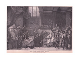 The Trial of Lord William Russell Giclee Print by Sir George Hayter
