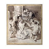 The Mocking of Christ Giclee Print by Sir Anthony van Dyck
