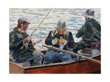 The Fishing Trip Giclee Print by Rosemary Lowndes