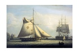 Maltese Cutter Giclee Print by Robert Salmon