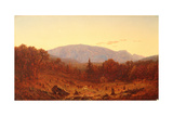 Twilight on Hunter Mountain Giclee Print by Sanford Robinson Gifford