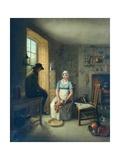 Gamekeeper and Cook Giclee Print by Sir David Wilkie