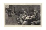 Old Age, a Study at the Westminster Union Giclee Print by Hubert von Herkomer