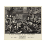 The Special Commission at the Royal Courts of Justice Giclee Print by Sydney Prior Hall