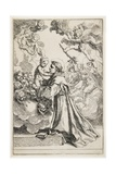 Saint Anthony of Padua, Late 1630S Giclee Print by Simone Cantarini