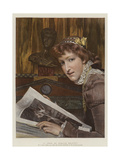 A Type of Female Beauty Giclee Print by Sir Lawrence Alma-Tadema
