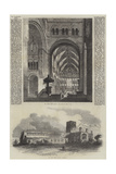 St Albans Abbey Giclee Print by Samuel Read