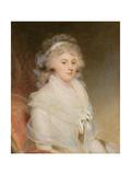 Elizabeth Beauclerk, Lady Herbert (1766-93) Giclee Print by Sir William Beechey