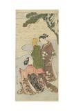 Autumn Moonlight of Matsukaze, C. 1767 Giclee Print by Suzuki Harunobu