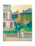 Suburban Street, 1913-14 Giclee Print by Spencer Frederick Gore