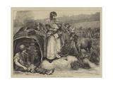 A Gipsy Encampment on Putney Common Giclee Print by Hubert von Herkomer