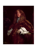 Portrait of John Maitland, 1st Duke of Lauderdale (1616-82) C.1665 Giclee Print by Sir Peter Lely